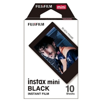 Fujifilm instax mini film Black (10 vel) 16537043 150819