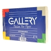 Gallery systeemkaart blanco wit 150 x 100 mm (100 stuks)