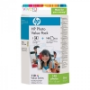 HP 110 foto value pack incl. 140 vel fotopapier (origineel) Q8898AE 031741