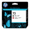 HP 73 (CD949A) printkop mat zwart en chromatic red (origineel) CD949A 030489