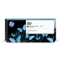 HP 747 (P2V84A) inktcartridge chromatic green (origineel) P2V84A 055350