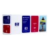 HP 83 (C4942A) UV inktcartridge magenta (origineel) C4942A 031580
