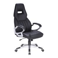 Verstelbare Bureaustoel Zwart.Kangaro Verstelbare Design Bureaustoel Zwart Kangaro 123inkt Nl