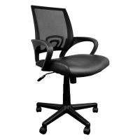 Verstelbare Bureaustoel Zwart.Kangaro Verstelbare Manager Bureaustoel Zwart Kangaro 123inkt Nl