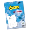 Labels extra wit 2 per vel verticaal (inhoud 50 labels)  060100