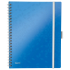 Leitz 4644 WOW be mobile book A4 gelinieerd 80 grams 80 vel blauw metallic