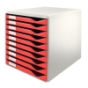 Leitz 5281 ladenblok rood (10 laden)