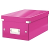 Leitz 6042 WOW DVD-box roze metallic