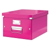 Leitz 6044 WOW medium opbergdoos roze metallic