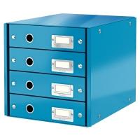 Leitz 6049 wow ladenblok blauw metallic 4 laden leitz for Leitz ladeblok