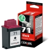 Lexmark 15MX971 (Nr.71) light inktcartridge zwart (origineel) 15MX971E 040259