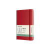 Moleskine large 18 maanden weekagenda 2020/2021 hard cover rood IMDHF218WN3Y21 313043