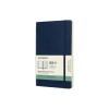 Moleskine large 18 maanden weekagenda 2020/2021 soft cover blauw IMDSB2018WN3Y21 313042