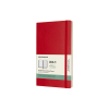 Moleskine large 18 maanden weekagenda 2020/2021 soft cover rood IMDSF218WN3Y21 313044