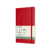 Moleskine large weekagenda 2021 soft cover rood IMDSF212WN3Y21 313017