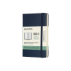 Moleskine pocket 18 maanden weekagenda 2020/2021 hard cover blauw IMDHB2018WN2Y21 313032