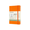 Moleskine pocket 18 maanden weekagenda 2020/2021 hard cover oranje IMDHN118WN2Y21 313030