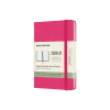 Moleskine pocket 18 maanden weekagenda 2020/2021 hard cover roze IMDHD1318WN2Y21 313029