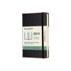 Moleskine pocket 18 maanden weekagenda 2020/2021 hard cover zwart IMDHB18WN2Y21 313027
