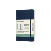 Moleskine pocket 18 maanden weekagenda 2020/2021 soft cover blauw IMDSB2018WN2Y21 313033
