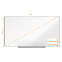 Nobo Impression Pro Widescreen whiteboard magnetisch emaille 71 x 40 cm 1915248 247401