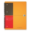 Oxford International Activebook A4 gelinieerd 80 grams 80 vel oranje 100102994 260039