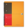 Oxford International Filingbook A4 gelinieerd 80 grams 100 vel oranje 100102000 260041