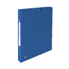 Oxford elastobox Top File+ blauw 25 mm
