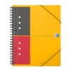 Oxford international meetingbook A5 gelinieerd 80 grams 80 vel oranje 100103453 260006
