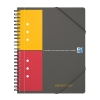 Oxford international meetingbook A5 geruit 80 grams 80 vel zwart