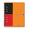 Oxford international spiraalblok A5 gelinieerd 80 grams 80 vel oranje 100102680 260002