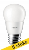 Philips Aanbieding: 6x Philips E27 led-lamp kogel mat 4W (25W)  LPH00117