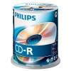 Philips CD-R 80 min. 100 stuks in cakebox