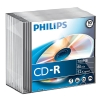 Philips CD-R 80 min. 10 stuks in slimline doosjes