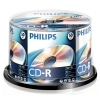 Philips CD-R 80 min. 50 stuks in cakebox
