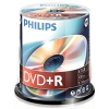 Philips DVD+R 100 stuks in cakebox DR4S6B00F/00 098013