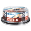 Philips DVD+R 25 stuks in cakebox DR4S6B25F/00 098011