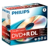 Philips DVD+R double layer 5 stuks in jewel case
