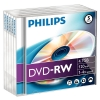 Philips DVD-RW rewritable 5 stuks in jewel case DN4S4J05F/00 098017