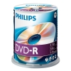 Philips DVD-R 100 stuks in cakebox
