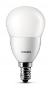 Philips E14 led-lamp kogel mat 4W (25W) 929001157501 LPH00105