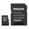 Philips Micro SDHC geheugenkaart class 10 inclusief SD adapter - 16GB FM16MP45B/00 FM16MP45B/10 098121