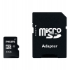Philips Micro SDHC geheugenkaart class 10 inclusief SD adapter - 32GB FM32MP45B/00 FM32MP45B/10 098122