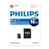 Philips Micro SDHC geheugenkaart class 4 inclusief adapter - 16GB FM16MP35B/00 FM16MP35B/10 098136