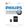 Philips Micro SDHC geheugenkaart class 4 inclusief adapter - 32GB FM32MP35B/00 FM32MP35B/10 098137