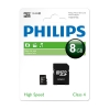 Philips Micro SDHC geheugenkaart class 4 inclusief adapter - 8GB FM08MP35B/00 FM08MP35B/10 098135