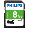 Philips SDHC geheugenkaart class 10 - 8GB