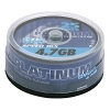 Platinum DVD+R 25 stuks in cakebox 100016 090305