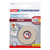 Tesa Powerbond Indoor dubbelzijdige tape 19 mm x 1,5 m 55740 202382
